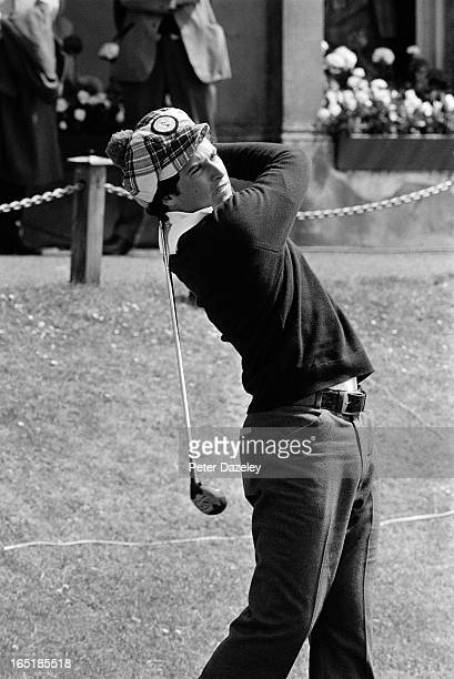 Curtis Strange of the United States during the final day of the 1975 Walker Cup Matches on the Old Course at St Andrews on May 29 1975 in St Andrews...