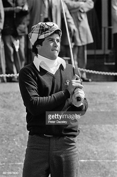 Curtis Strange of the USA during the 1975 Walker Cup Match played on the Old Course on May 29 1975 in St Andrews Scotland