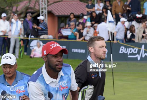Curtis Yonke of the United States during the final round of the PGA TOUR Latinoamerica Quito Open presentado por Diners Club at Quito Golf and Tennis...