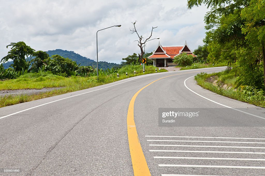 Curve Road : Stock Photo