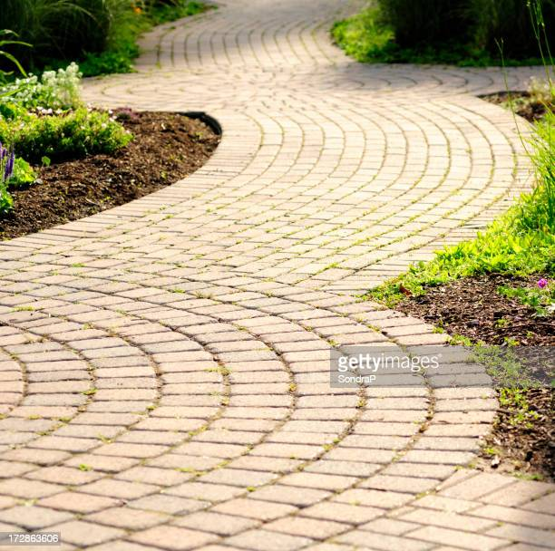 Curved Pathway