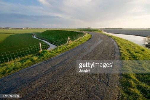 曲線 Road をダイク