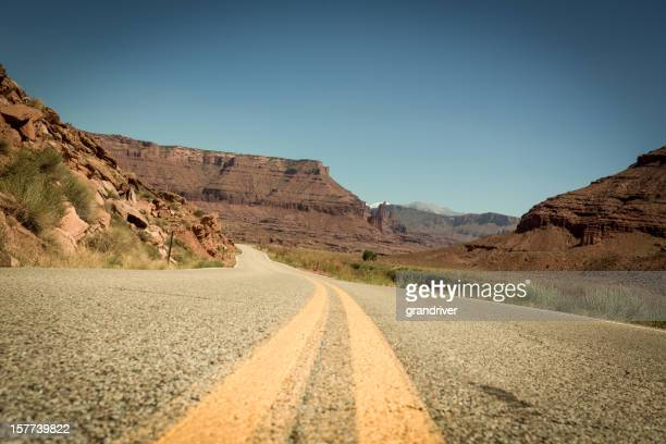 Curved Road, Southwest USA