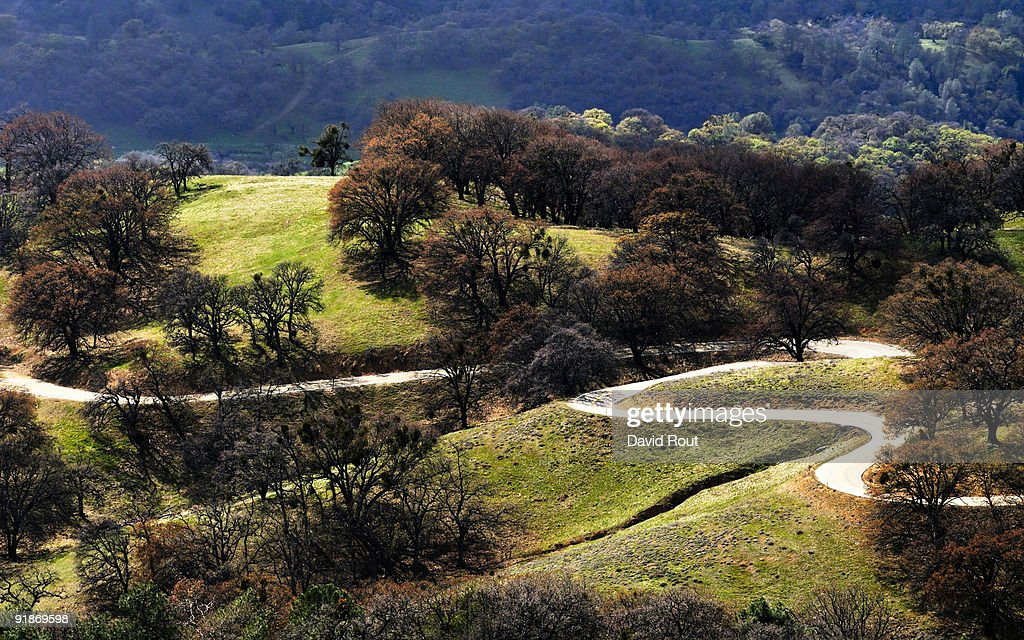 Hamilton (MT) United States  City new picture : Curved Road Top Of Mt Hamilton California Stock Photo | Getty Images