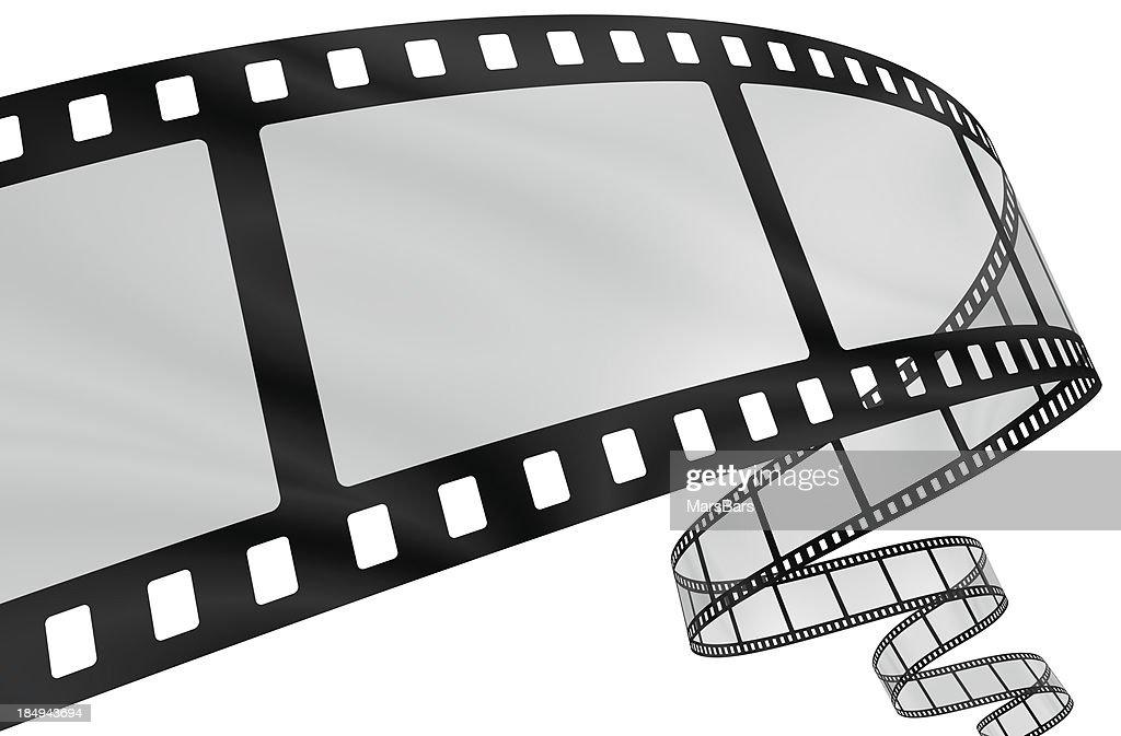 Curvy film strip