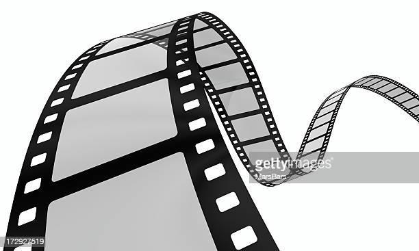 kurvige Filmstreifen