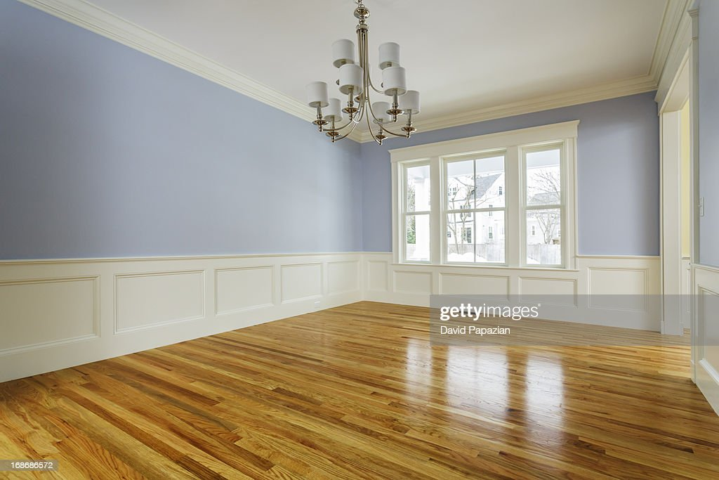 Custom home interior without furniture