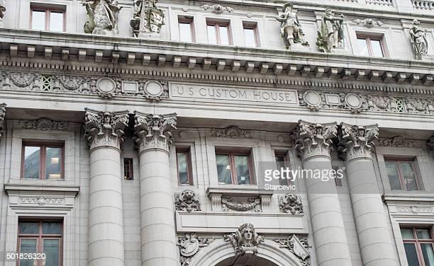 US Custom House on Wall Street - New York City