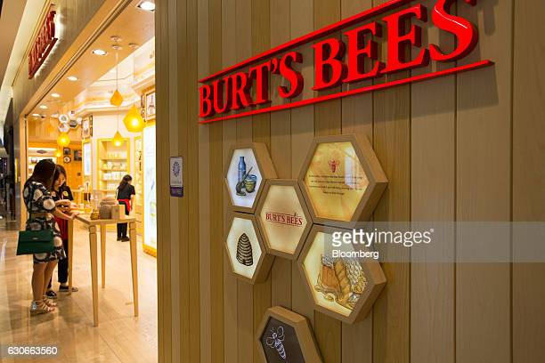 A customer browses at a Burt's Bees Inc store a subsidiary of Clorax Co in Seoul South Korea on Thursday July 2 2015 At a time when large...