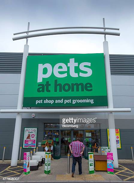 A customer enters a Pets at Home Ltd store in London UK on Monday March 10 2014 Pets at Home majorityowned by privateequity company KKR Co told...