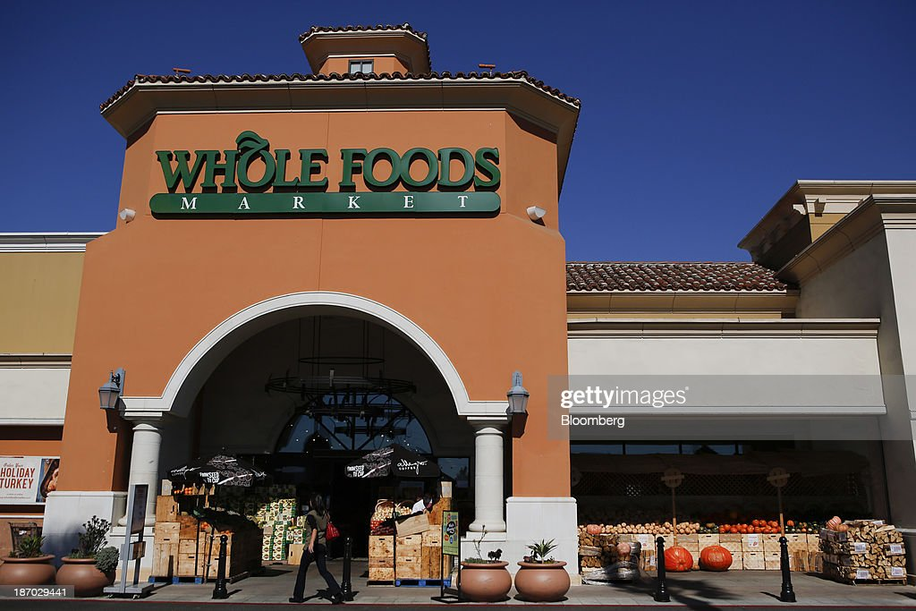 A customer enters a Whole Foods Market Inc. location in El Segundo, California, U.S., on Tuesday, Nov. 5, 2013. Whole Foods Market Inc. is scheduled to release earnings figures on Nov. 6. Photographer: Patrick T. Fallon/Bloomberg via Getty Images