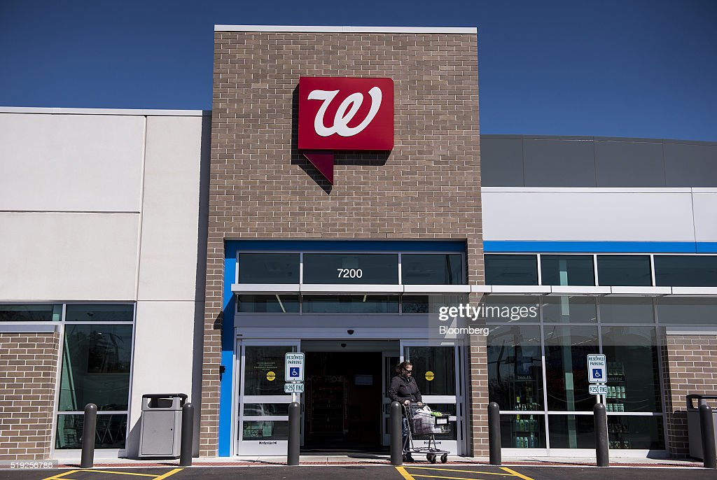 A customer exits a Walgreens Boots Alliance Inc  store in Elmwood Park   Illinois. Inside A Walgreens Boots Alliance Inc  Store As Earnings Figures