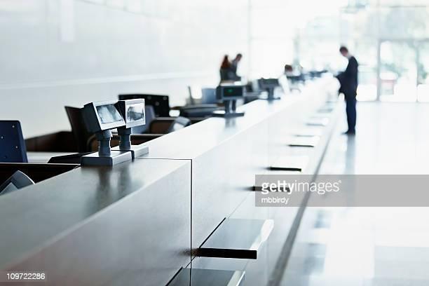 Service d'assistance clientèle au centre des expositions