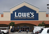 A customer leaves a Lowe's store on August 20 2012 in San Bruno California Home improvement chain Lowe's reported a ten percent decline in second...