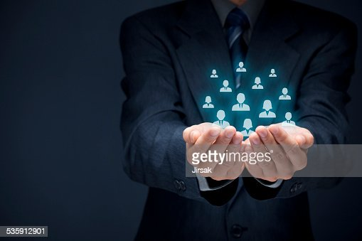 Customer or employees care concept : Stock Photo
