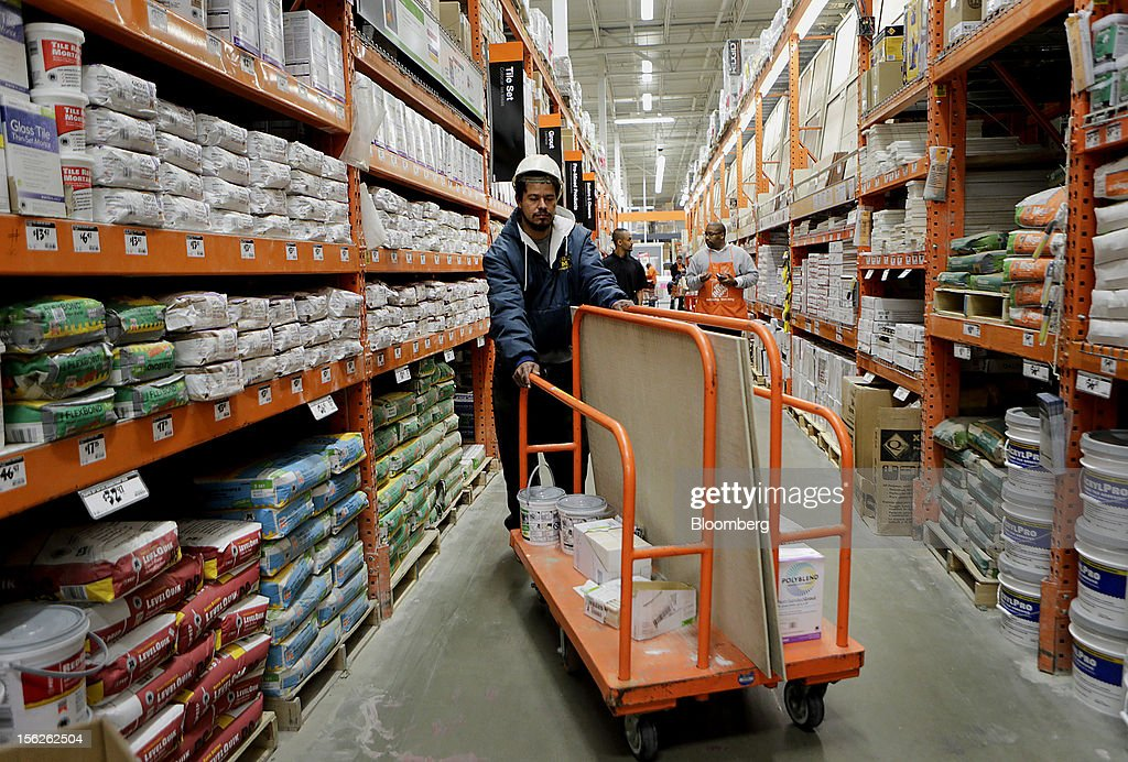 Views From Inside A Home Depot Store Ahead of Earns Photos and ...