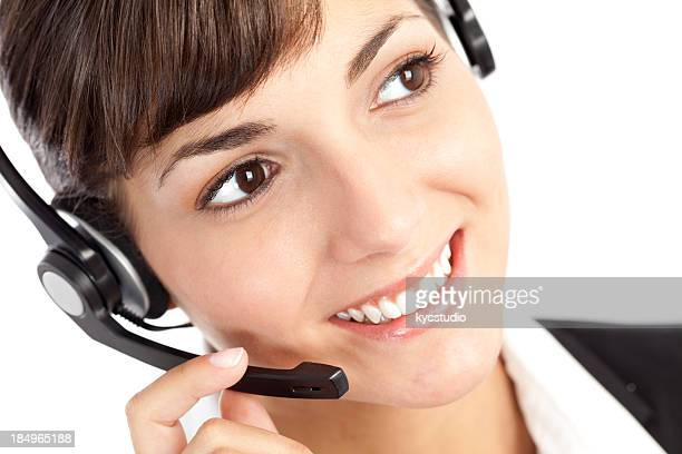 Customer service woman