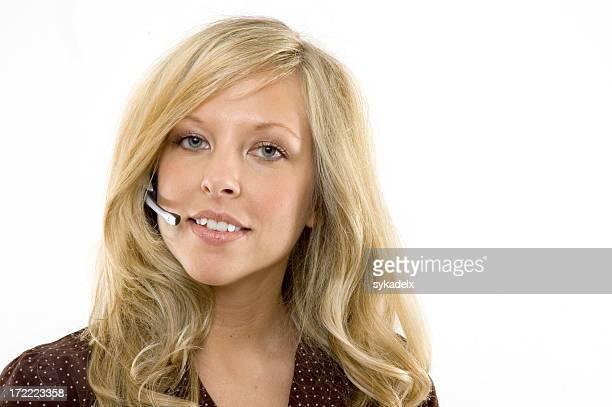 Service clientèle femme