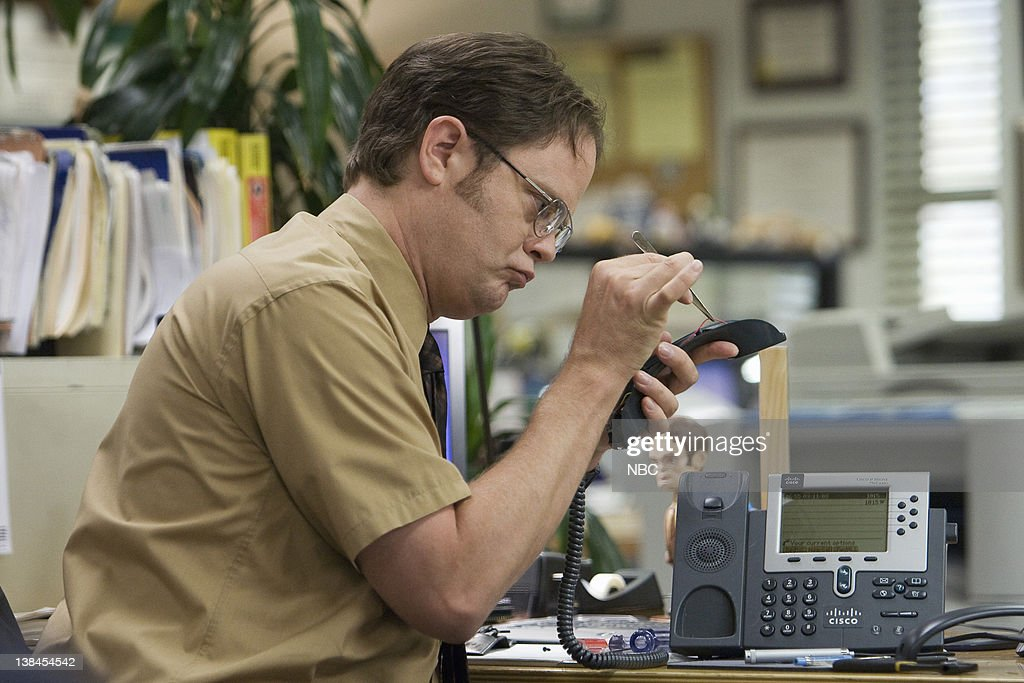 THE OFFICE -- 'Customer Survey' Episode 6 -- Pictured: Rainn Wilson as Dwight Schrute