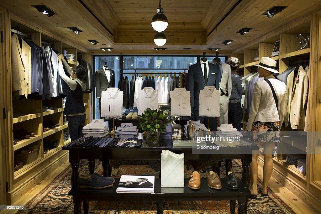 Crew clothing stores