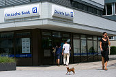 Customers enter a Deutsche Bank AG branch in Boblingen Germany on Monday July 25 2016 Deutsche Bank Chief Executive Officer John Cryan will try to...