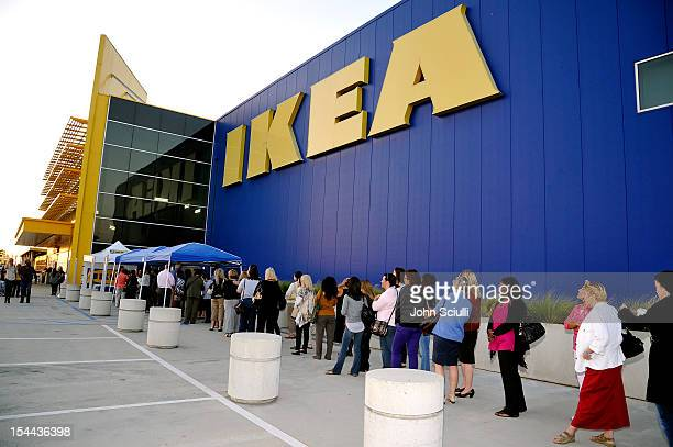 IKEA customers line up to see television host Lisa Ling and the IKEA Life Improvement Squad kick off the third year of IKEA's Life Improvement...