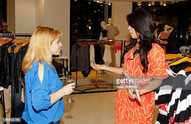 Customers shop at bebe at Miracle Mile's 'Bold New Look' event hosted by Adrianna Costa on January 12 2012 in Las Vegas Nevada