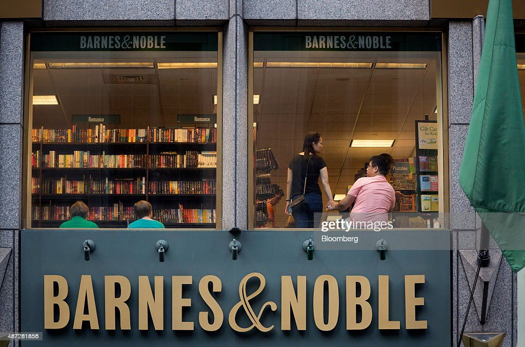 Sit In Window a barnes & noble inc. store ahead of earnings figures photos and