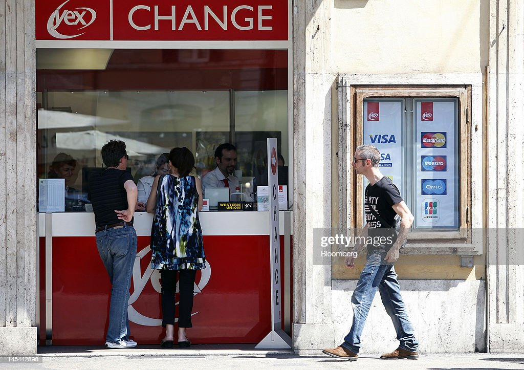 Currency Exchange Rates As Euro Falls To Two Year Low Against
