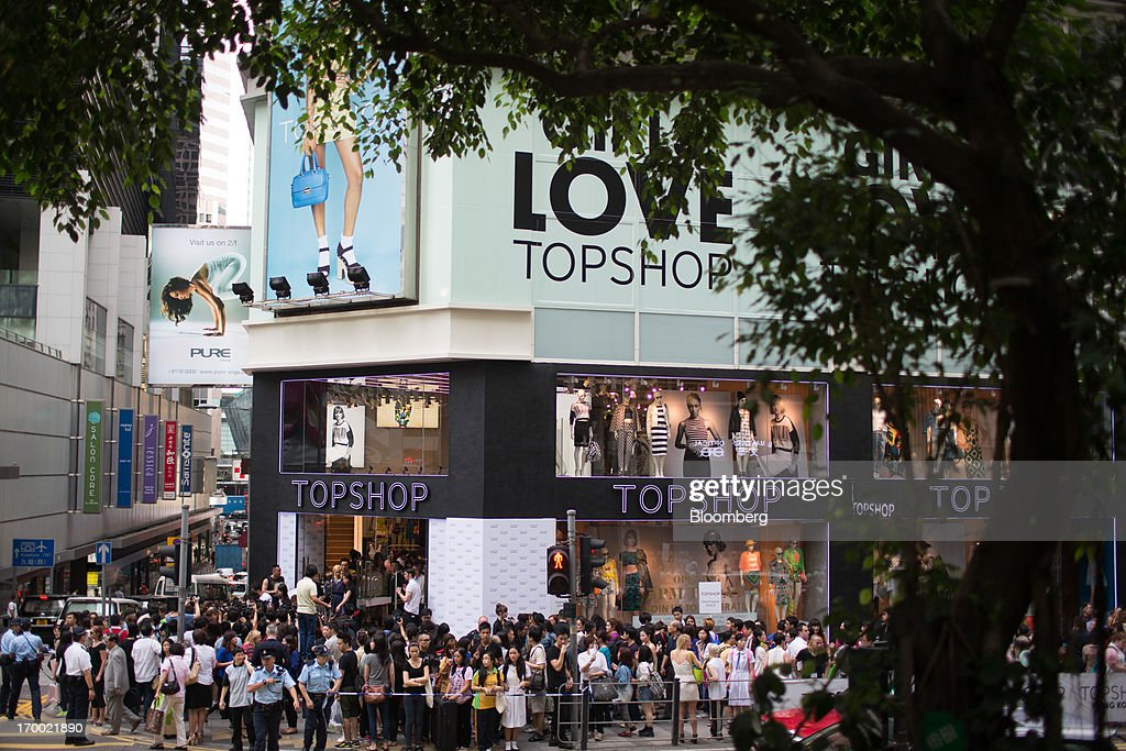 Topshop opens in hong kong getty images for Arcadis group