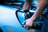Customized car headlight