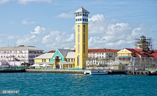 Customs building at the Port of Nassau