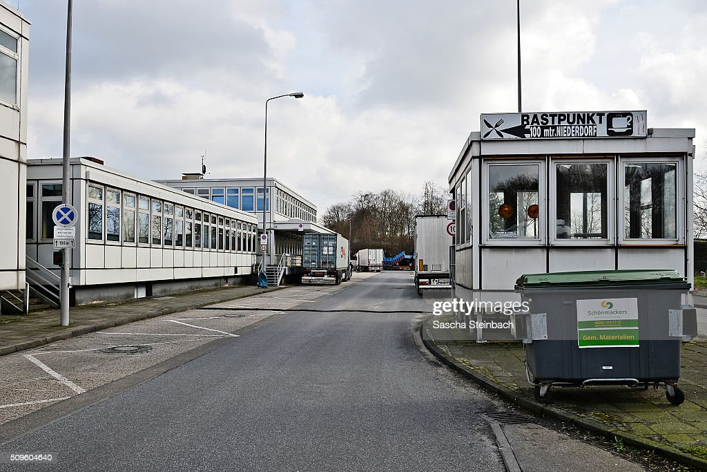 A customs office marks entry to Germany at the A40 highway on the Dutch-German border on February 11, 2016 near Straelen, Germany. Despite an announcement by Dutch authorities two days before that effective immediately police would begin conducting stricter controls of incoming traffic at border crossings to Germany not a single Dutch police officer was present at at least 15 border crossings today. Dutch authorities made the announcement as part of an effort to prevent migrants who have no case for asylum from entering Holland.