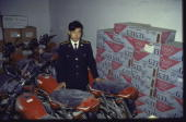 Customs official w confiscated goods shipped in fr Hong Kong
