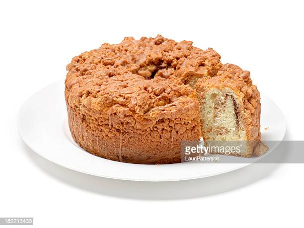 Cut Cinnamon Coffee Cake