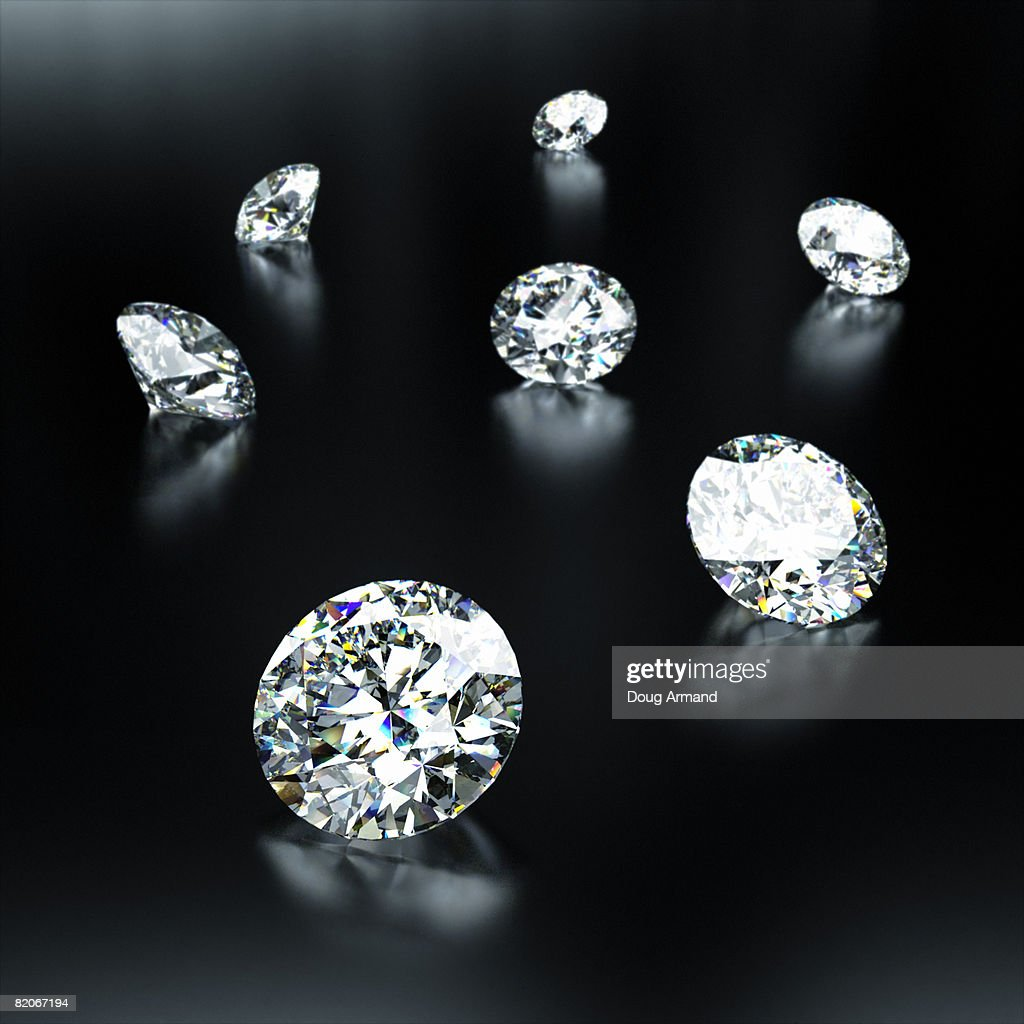 Cut Diamonds : Stock Photo