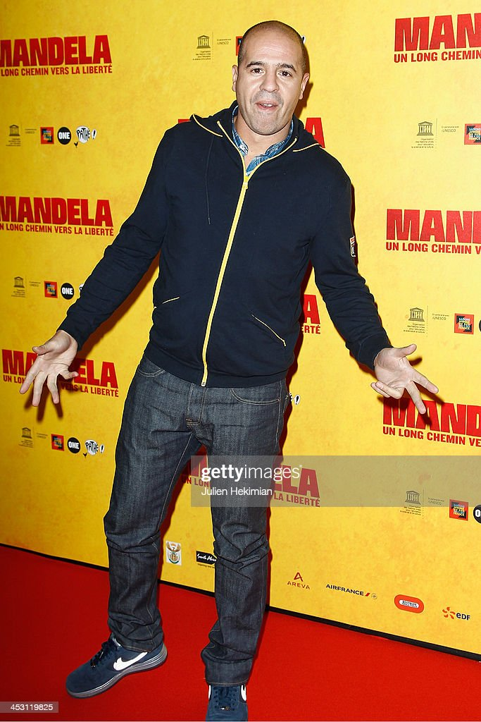 Cut Killer attends 'Mandela : Long Walk to Freedom' Paris Premiere at UNESCO on December 2, 2013 in Paris, France.