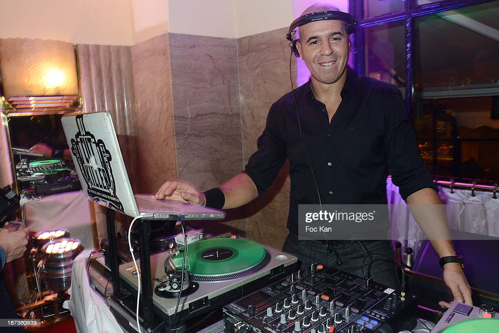 DJ Cut Killer attends the Prix de Flore 2013' : Ceremony Cocktail At Cafe De Flore on November 7, 2013 in Paris, France.