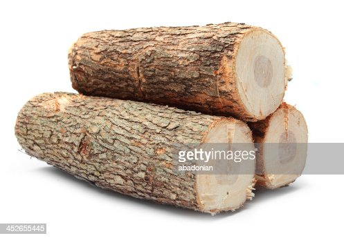 Cut offenes Feuer Holz. : Stock-Foto