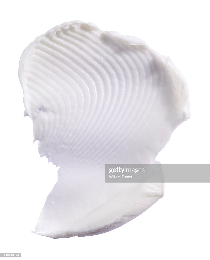 A cut out beauty product shot of body cream