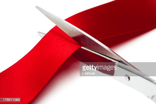 Cut Red Ribbon