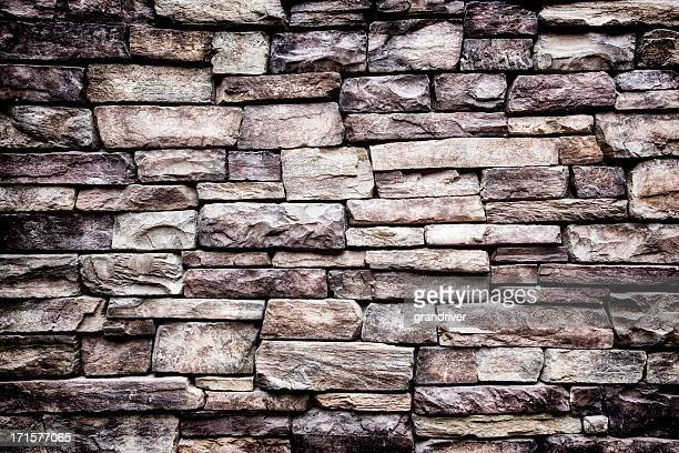 Cut Stone Rock Wall