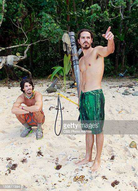 'Cut Throat' – Keith Tollefson and Ozzy Lusth on redemption Island during the ninth episode of SURVIVOR SOUTH PACIFIC on the CBS Television Network