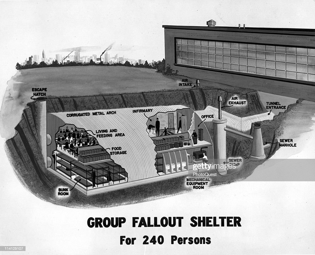 Group Fallout Shelter Design Pictures Getty Images