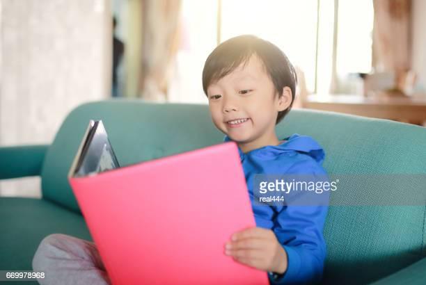 Cute asia child