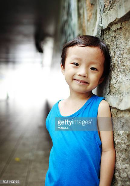 Cute asia children