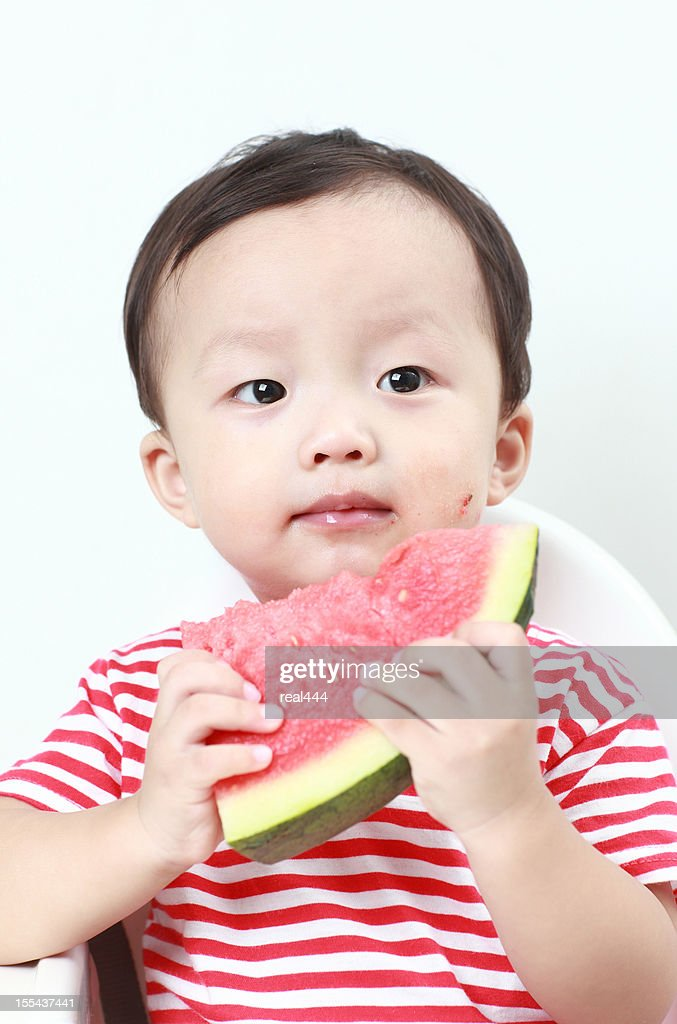 Asian Baby Eating 35