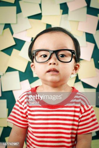 Cute Asian baby : Stock Photo
