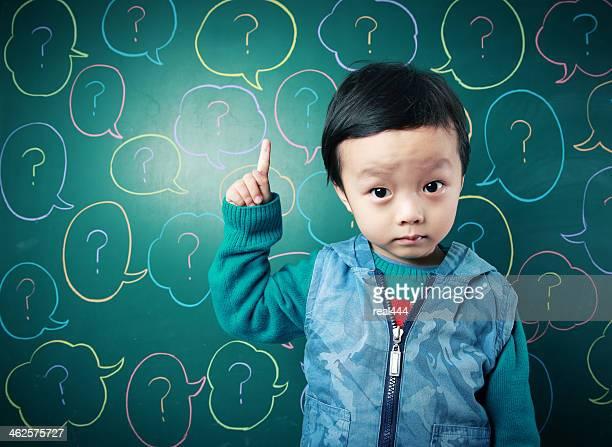 Engraçado bebê asiático
