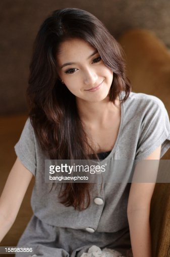 Cute asian teen chieby packmans